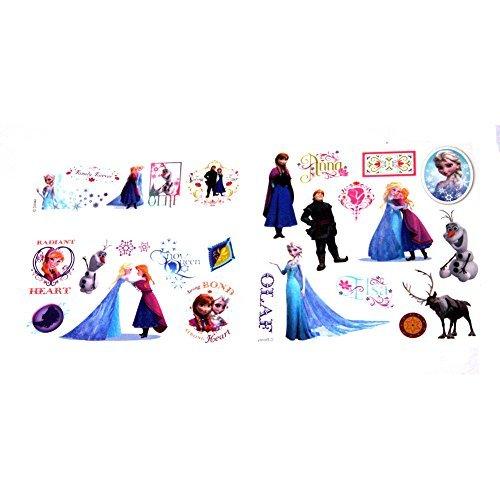 (Disney Frozen 25 Tattoos (Includes Princess Anna, Queen Elsa, Olaf, Kristoff and)