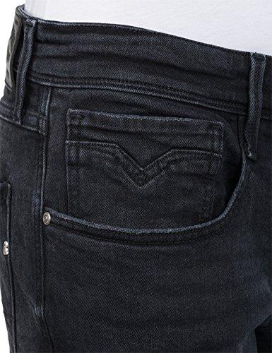 Homme Slim Anbass Replay 98 black Noir Jean tq4KwxB
