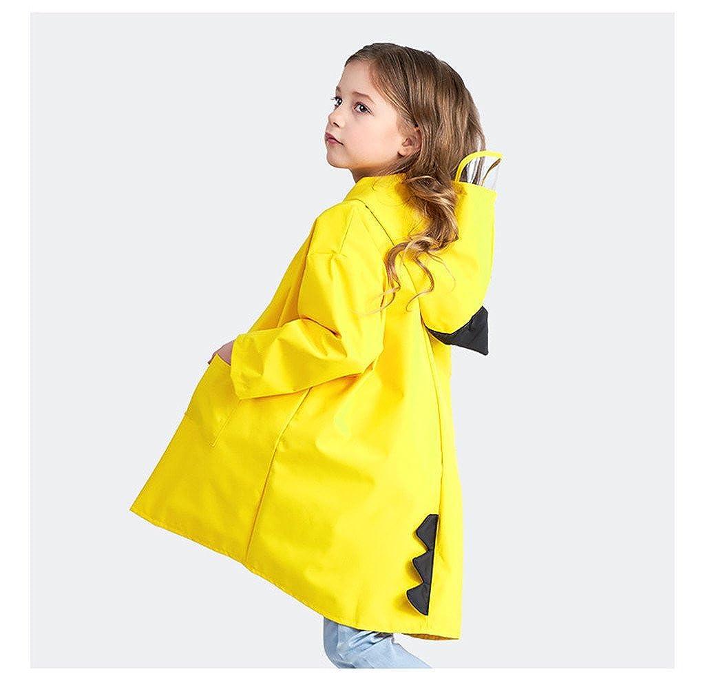 Zilee Niños Traje de Lluvia Chubasquero Niña Traje de Lluvia para Niños  Impermeable Pantalones Chubasquero Poncho 746a4cbaf78