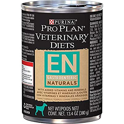 Purina Veterinary Diets EN Gastroenteric Naturals Canned Dog Food 12/13.4 oz
