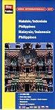 Carte routière et touristique : Malaisie - Indonésie - Philippines, N° 337 (avec un index)