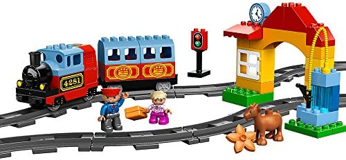 Amazon Com Lego Duplo Town My First Train Set 10507 Toys Games