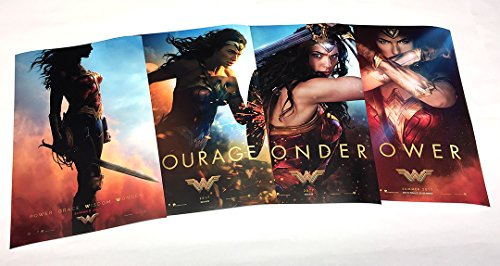 2017 Show Poster - Wonder Woman 2017 (Set of 4 - Advance 11