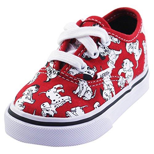 Vans Kids Disney Red Skate Shoe - 4 M US Toddler -
