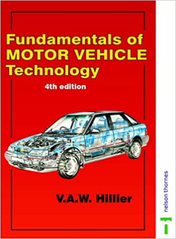 hillier's fundamentals of automotive electronics pdf free