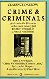 Crime and Criminal, Clarence S. Darrow, 0882862502