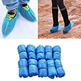 Hovico 100Pcs/pack Disposable Plastic Thick Outdoor