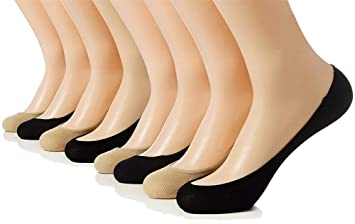 592c732f01a Dr. Anison Ultra Low Cut Liner No Show Socks Women Pack of 4 Pair 6 pair  (Fit Size 6-11) (8-Pack Asst)