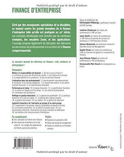 Finance D Entreprise Collectif 9782311400113 Amazon Com