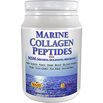 Image of Andrew Lessman Marine Collagen Peptides Powder + MSM 240 Servings - Promotes Radiant Smooth Soft Skin, Comfortable Joints. 100% Pure. Highest Quality Super Soluble No Fishy Flavor No Additives Non-GMO Health and Household