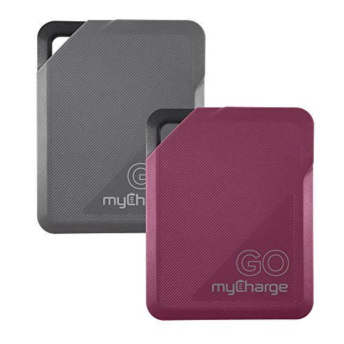 myCharge GO Style Power Portable Charger 2600mAh External Battery Pack for Cell Phones (Apple iPhone XS, XS Max, XR, X, 8, 7, 6, SE, 5, Samsung Galaxy, LG, Motorola, HTC) Sold in Assorted Colors (Battery Charger For Mobile Devices Assorted Colors)