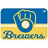 MLB Milwaukee Brewers Glove Mat, Small/20 x 30-Inch, White
