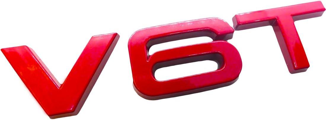 Ctronic rosso ala parafango anteriore posteriore nero lucido stivale di logo emblema adesivo adesivo V6T SQ5/S5/HB4R1