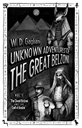The Great Belzoni and the Gait of Anubis (The Unknown Adventures of the Great Belzoni Book 1)