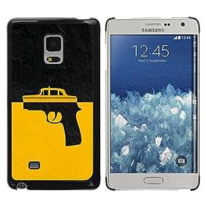 Be Good Phone Accessory // Dura Cáscara cubierta Protectora Caso Carcasa Funda de Protección para Samsung Galaxy Mega 5.8 9150 9152 // Taxi Gun Taxi Driver