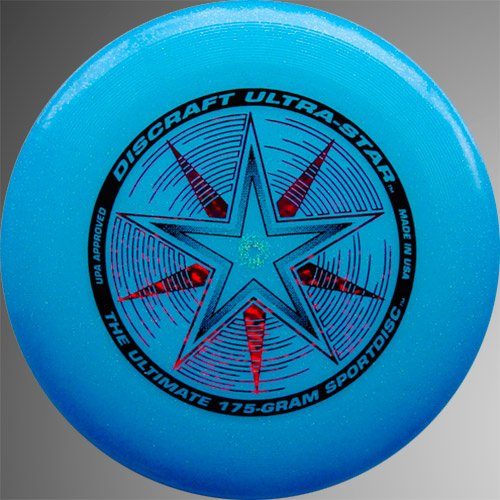 Discraft Ultra-Star 175g - Blue Sparkle