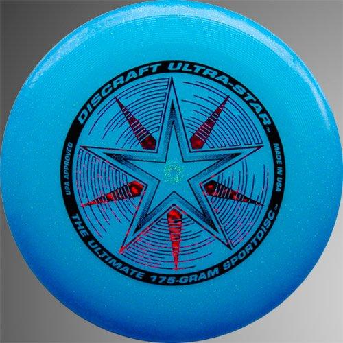 Discraft Ultra-Star 175g - Blue Sparkle ()