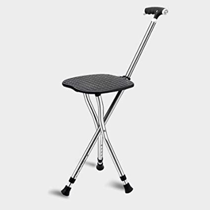 Fine Amazon Com Zjfsx Cane Seat Folding With Led Light Stool Caraccident5 Cool Chair Designs And Ideas Caraccident5Info