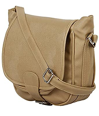 Felicita Beige Women Sling Bags: Amazon.in: Clothing & Accessories