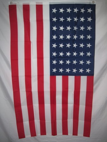 Retro 48 Star U.s. National Flag 3 X 5, 3x5 Feet New by quar