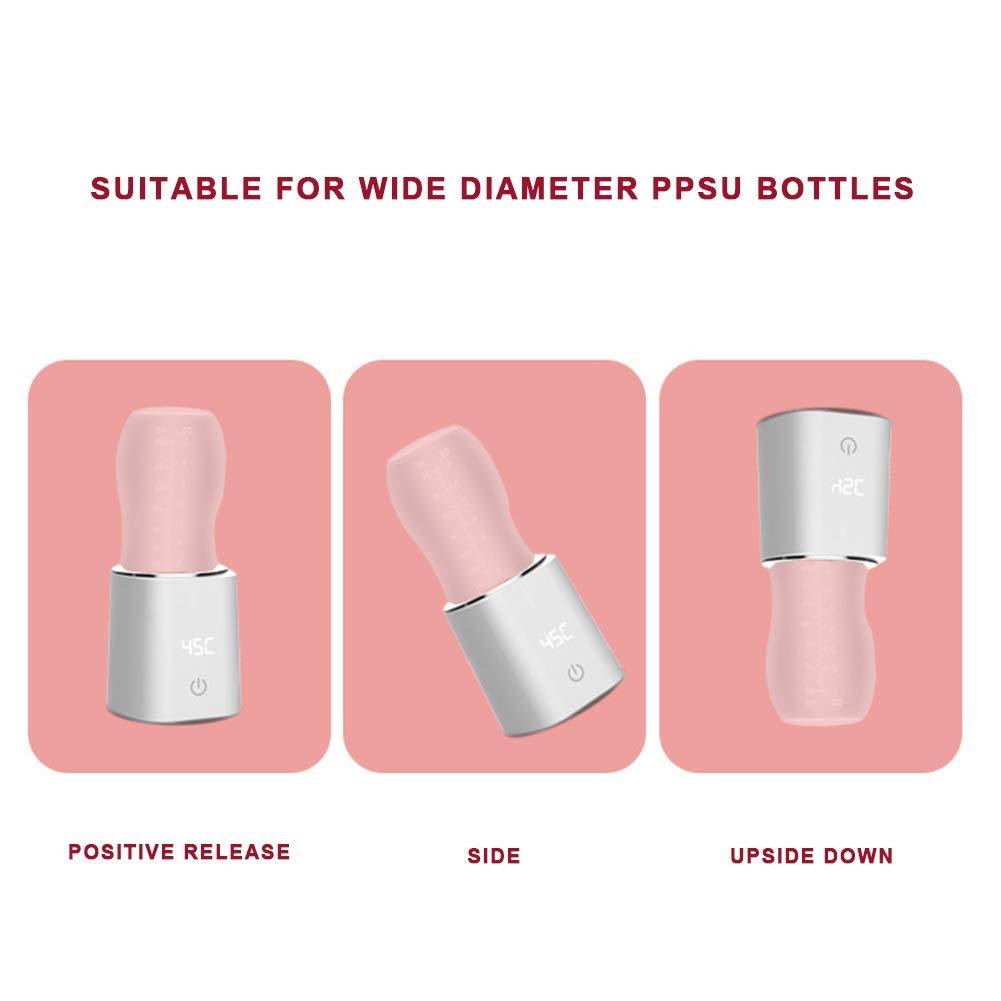 Rabbfay Baby Flaschenw/ärmer USB Tragbar Reise Becher Milch W/ärmer Heizung Flasche Elektrisch Erw/ärmen Tasche Isoliert Tasche Zum Baby Flasche Zum Draussen Reisen