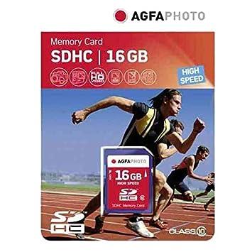 AgfaPhoto 10426 - Tarjeta de memoria SD (16 GB, Clase 10 ...