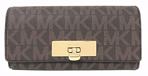 Michael Kors Callie Signature Carryall Wallet by Michael Kors