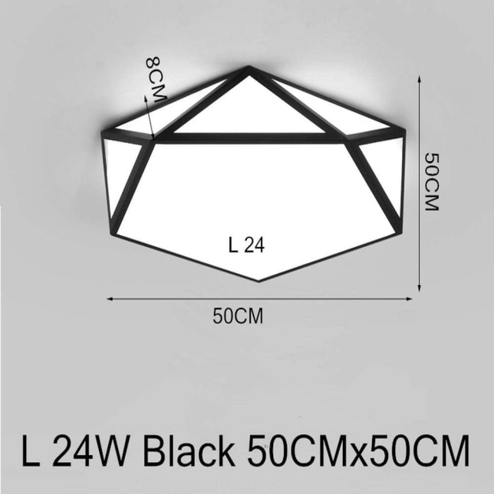 WSYYWD Lámpara hexagonal con lámpara de techo decorador nórdico ...