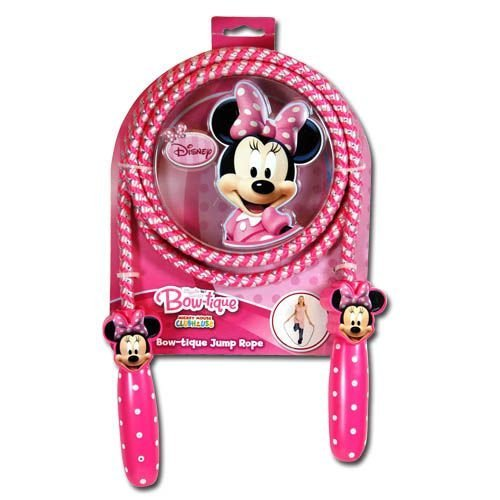 What Kids Want Minnie Mouse Bow - Tique Shaped Handle Jump Rope