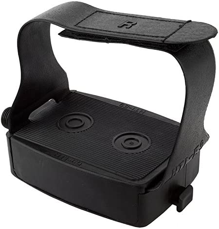 Sunlite Exercsier Pedals w// Hook and Loop Toe Strap 9//16