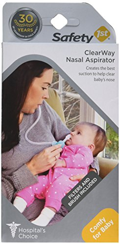Safety 1st Clear View Nasal Aspirator by Safety 1st