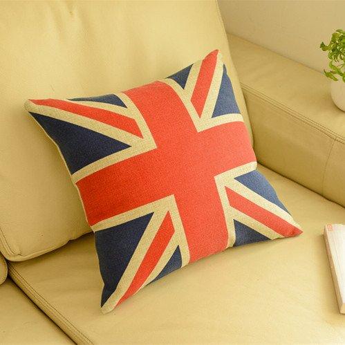 Union Jack IKEA algodón Cojín: Amazon.es: Hogar