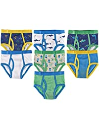 Boys 100% Cotton Tagless Colorful Briefs (Pack of 7)