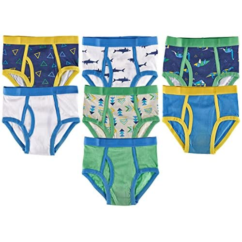 Boys Kids Ultimate Spiderman Marvel 4 Pack Briefs Underwear size 4 6 Multi Print