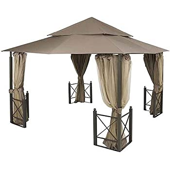 Amazon Com Hampton Bay Replacement Canopy For 10 Ft X