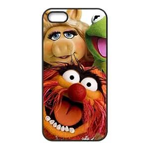 iPhone 4 4s Cell Phone Case Black MUPPETS KERMIT PIGGY FUN Kyjw