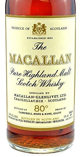 Rarity: The Macallan Whisky Vintage 1962 original bottling, 0 7l