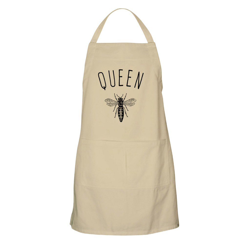 CafePress - Queen Bee Apron - Kitchen Apron with Pockets