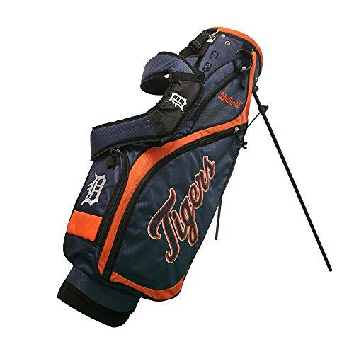 Tigers Team Logo Golf - Team Golf 95927 Detroit Tigers MLB Nassau Golf Stand Bag