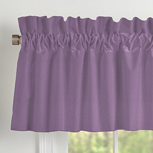Purple Woodland Tailored Window Valance By The Peanut