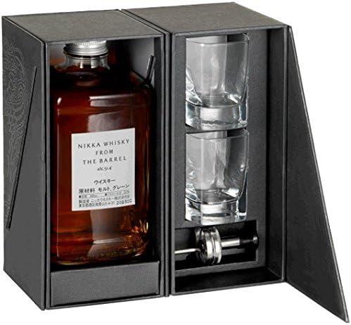 Nikka - From The Barrel 50cl Bottle & Glasses Gift Pack - Whisky ...
