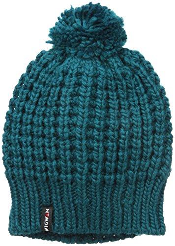 Wigwam Men's Freya Knit Pom Hat, Teal One Size ()
