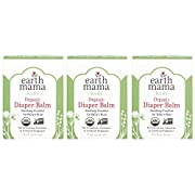 Earth Mama Organic Diaper Balm Calendula Cream, 2-Fluid Ounce, 3-Pack