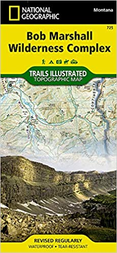 National Geographic Trails Illustrated Topographic Map Bob