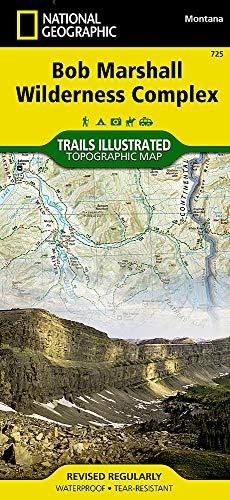 Bob Marshall Wilderness (National Geographic Trails Illustrated -