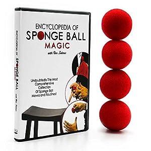 Magic Makers Encyclopedia of SpongeBall Magic With Set of Magic Red Sponge Balls