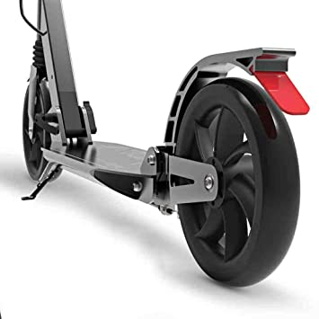 Patinetes Scooter Plegable para Adultos con Ruedas Grandes con Frenos, Kick Scooters para Mujeres Hombres, 100 kg, Color Opcional, no eléctrico (Color ...