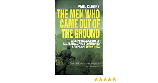 the men who came out of the ground cleary paul