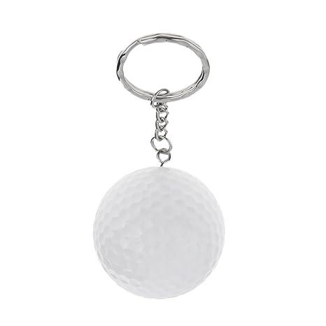 Sharplace Mini Bola de Golf Llavero de Resina Sintética ...