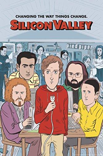 Pyramid America Silicon Valley Season 4 Sketch TV Show Poste